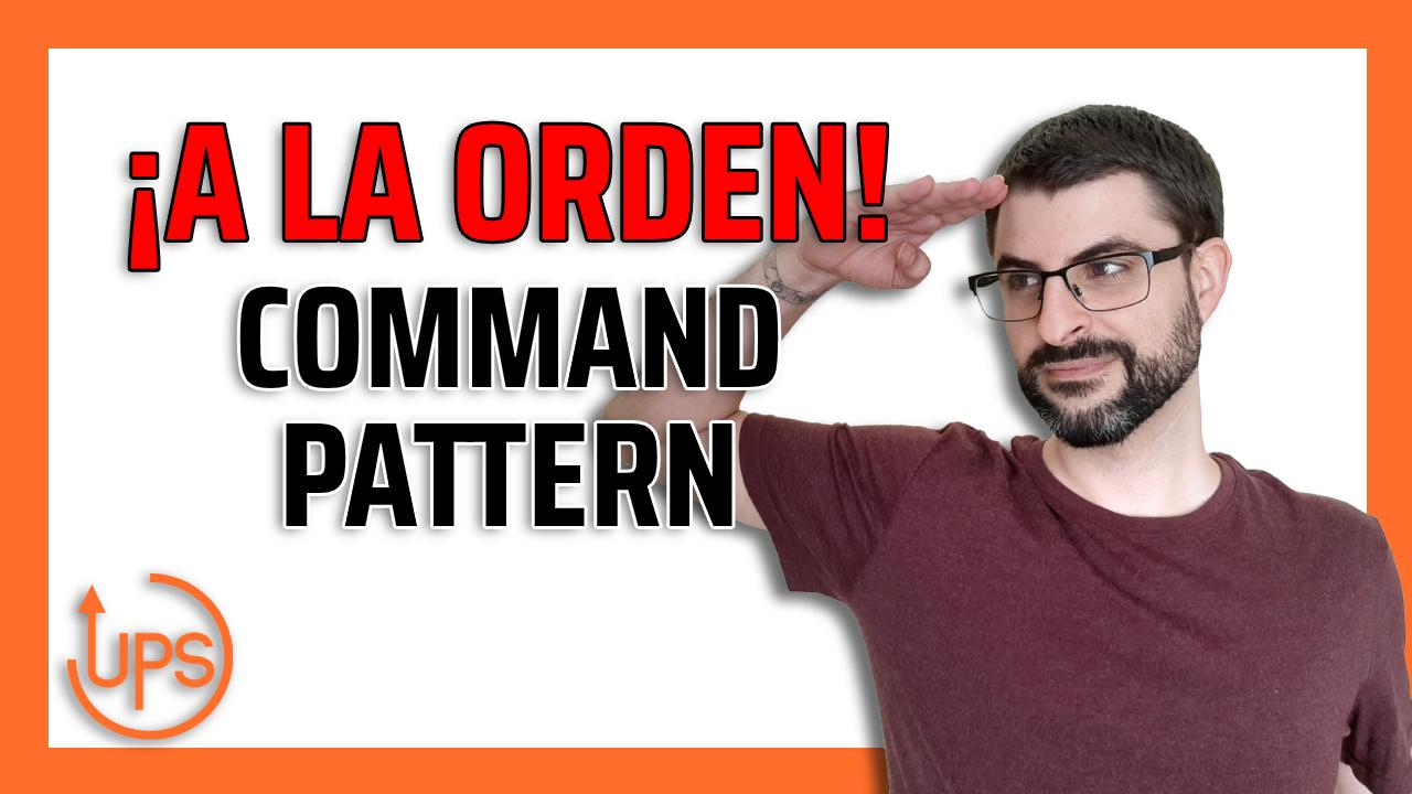 ➤ Patrones de diseño - Command
